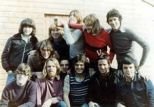 Bobby Sands, Long Kesh. Back row, second from right
