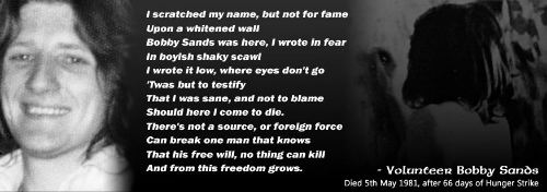 Image result for Photograph of grave of bobby sands