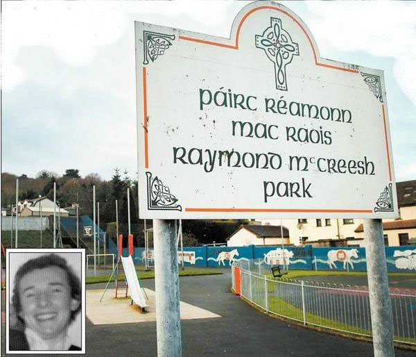 Raymond mcCreesh Park