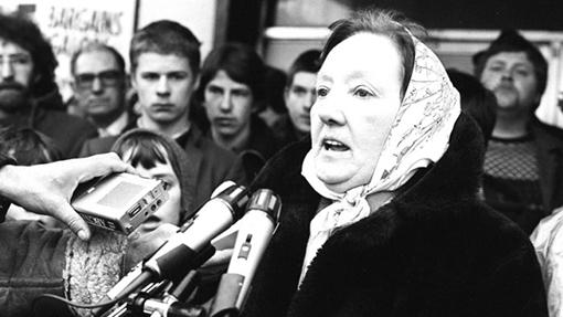Death of Mrs Rosaleen Sands