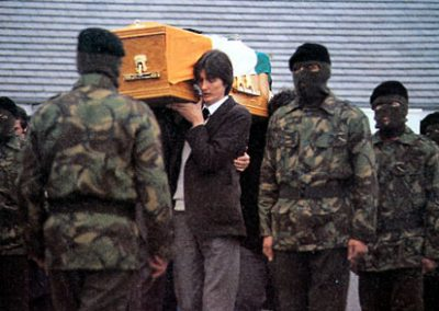 Bobby Sands Funeral Colour